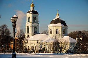 Moscow Church in Tsaritsyno park