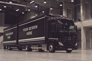 Truck/Camion Mock-up#24