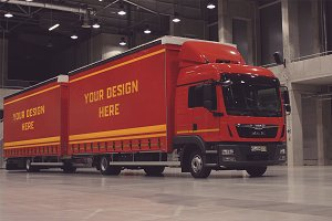 Truck/Camion Mock-up#26