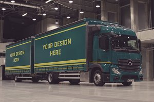 Truck/Camion Mock-up#25