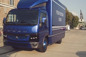Truck/Camion Mock-up#30
