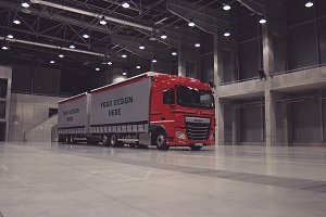 Truck/Camion Mock-up#34