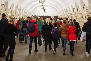 Metro Komsomolskaya Moscow