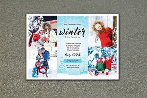 Winter Mini Session Template-V459