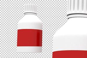 Bottle - 3D Render PNG