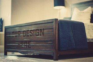 Wood Bed Mock-up