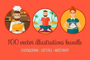 Lifestyle, maternity, food bundle