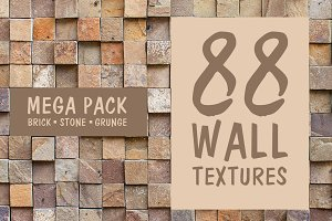 88 Hi-Res Wall Textures Pack