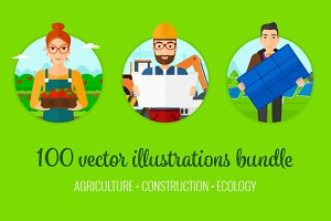 Agriculture and construction bundle