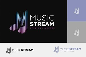 Music Stream Logo
