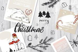 """Dear Santa"" Christmas set"
