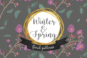 Floral Patterns- Winter & Spring