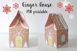 Ginger House Printable PDF