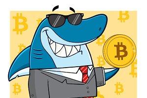 Smiling Business Shark