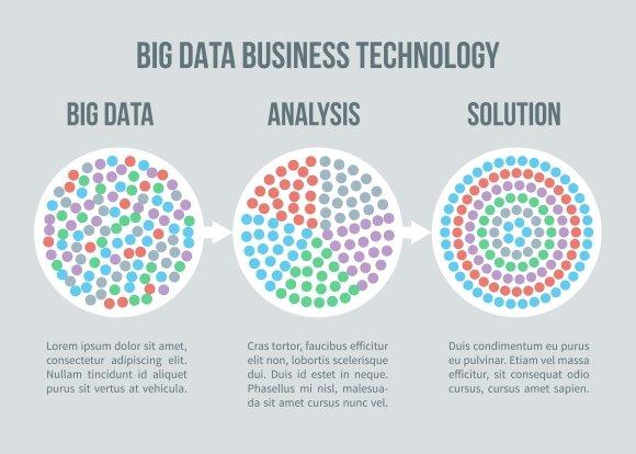 Big Data Vector Concept