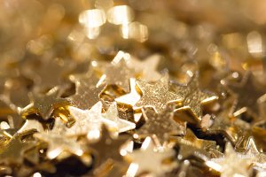 Glittering stars