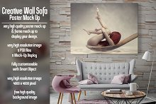Creative Wall Poster & Frame Mock Up
