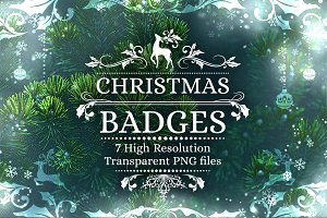 Christmas Badges (vol 1)