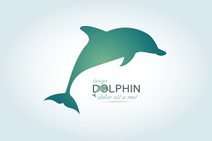 Dolphin icon design