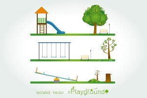Kids playground set