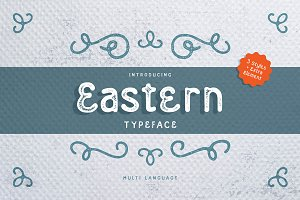 Eastern Typeface