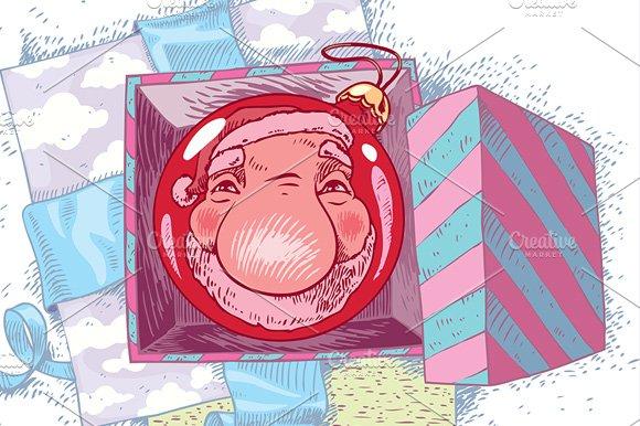 Reflecting Santa Claus