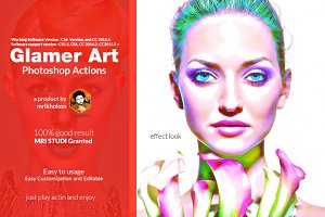 Glamour Photoshop Actions
