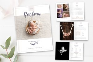 Studio Photography Magazine Template