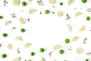 Lime frame