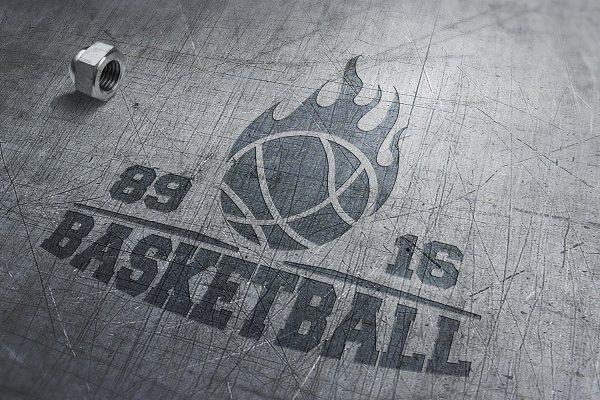 Great set of basketball logo,emblem…