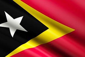 Timor Flag