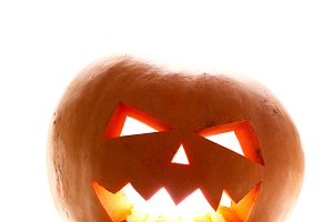 face of helloween pumpkin