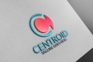 Centroid C Letter Logo