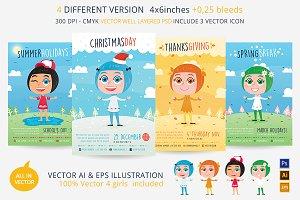4 Season Kids Flyer (4 flyer in 1)