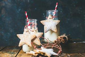 Christmas festive cookies