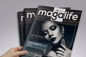 Magalife Magazine Template
