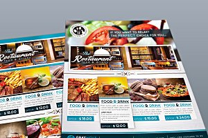 Restaurant Flyer and Menu