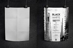 Dark Poster Mockup