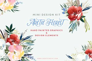 Mini Design Kit - Arctic Florist