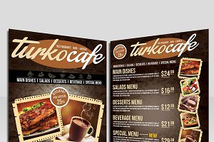 Cafe & Restaurant Flyer
