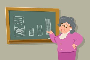 Old Female Teacher