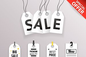 Sale Text Tag