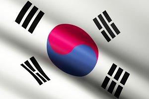 South Korea Flag