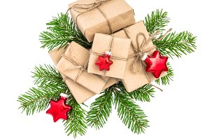 Christmas decoration Gift boxes