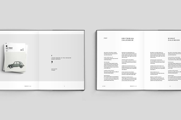 Magazine Media Kit and Identity in Brochure Templates - product preview 4