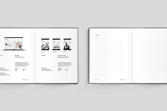 Magazine Media Kit and Identity in Brochure Templates - product preview 6