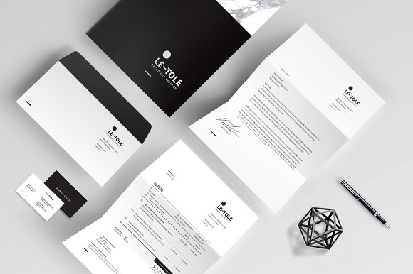 Magazine Media Kit and Identity in Brochure Templates - product preview 8