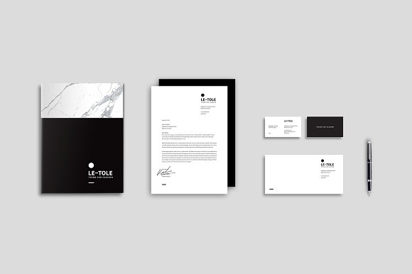 Magazine Media Kit and Identity in Brochure Templates - product preview 9