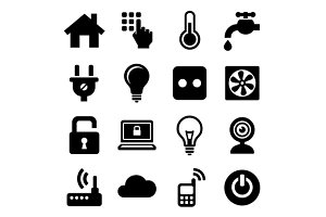Smart Home Management Icons