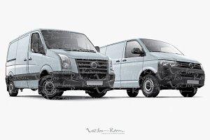 Two Panel Vans
